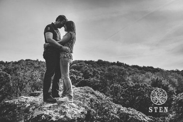 couple, engagement, photo, Rennes, Fougères, Saut Rolland