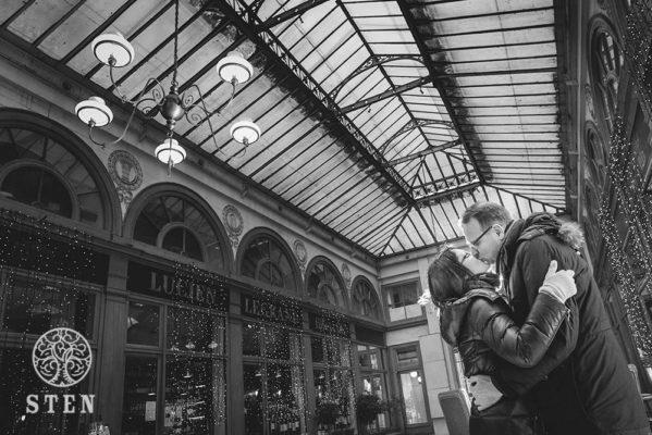 Mariage, couple, engagement, Paris