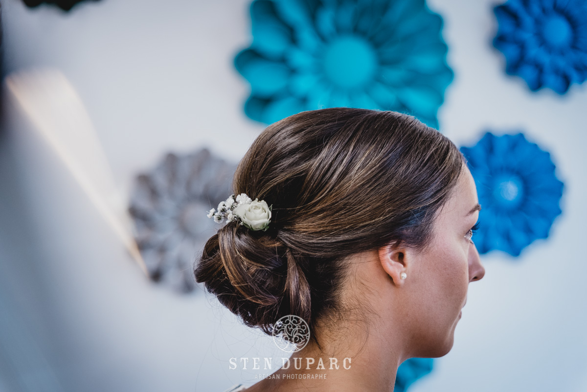 Photographe Rennes Mariage Habillage Coiffure Maquillage